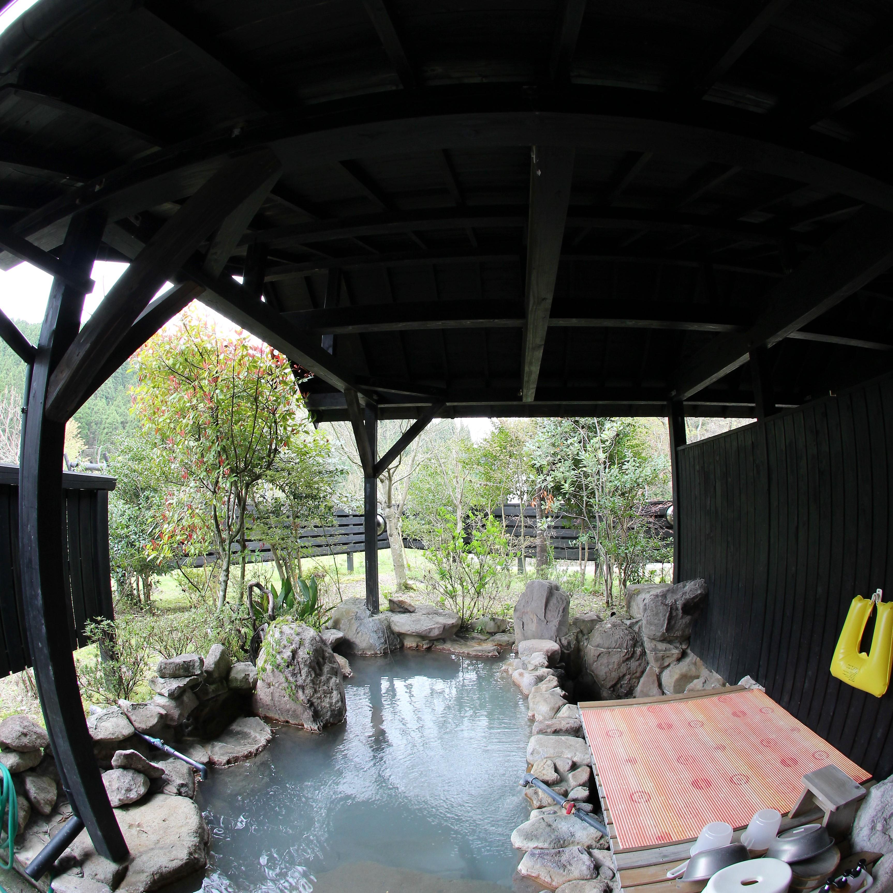 ログハウス小国 お風呂(温泉)